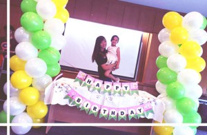 balloon column for kids birthday party