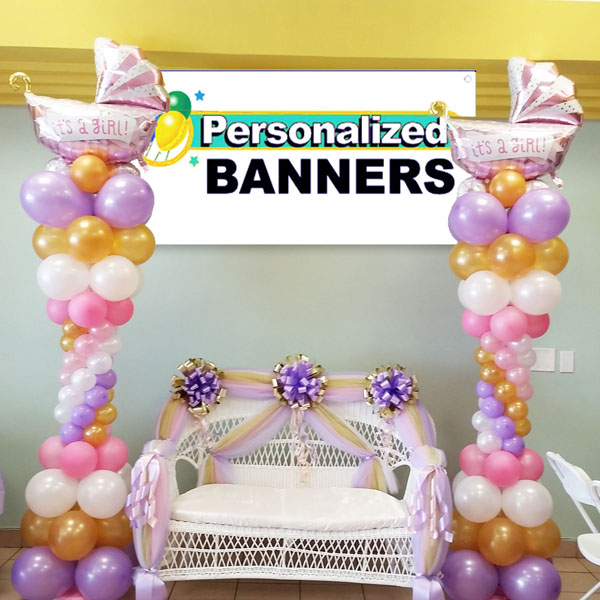 Cheapest balloon decorations for birthday party party for Baby shower balloons decoration