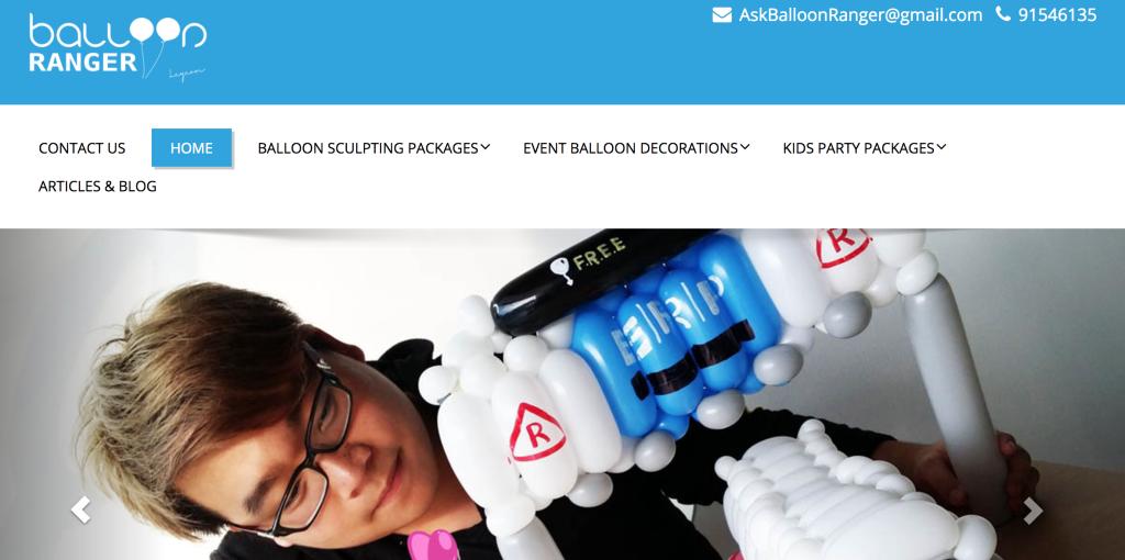 balloon ranger - balloon decoration service