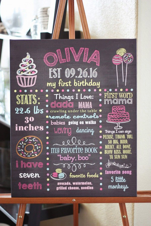 banner for birthday parties