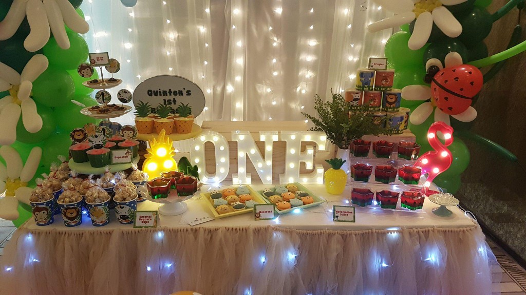 Dessert Table - Quinton's 1st