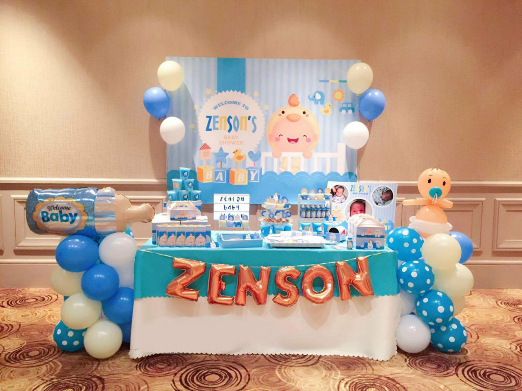 Dessert Table - Zenson Baby Shower