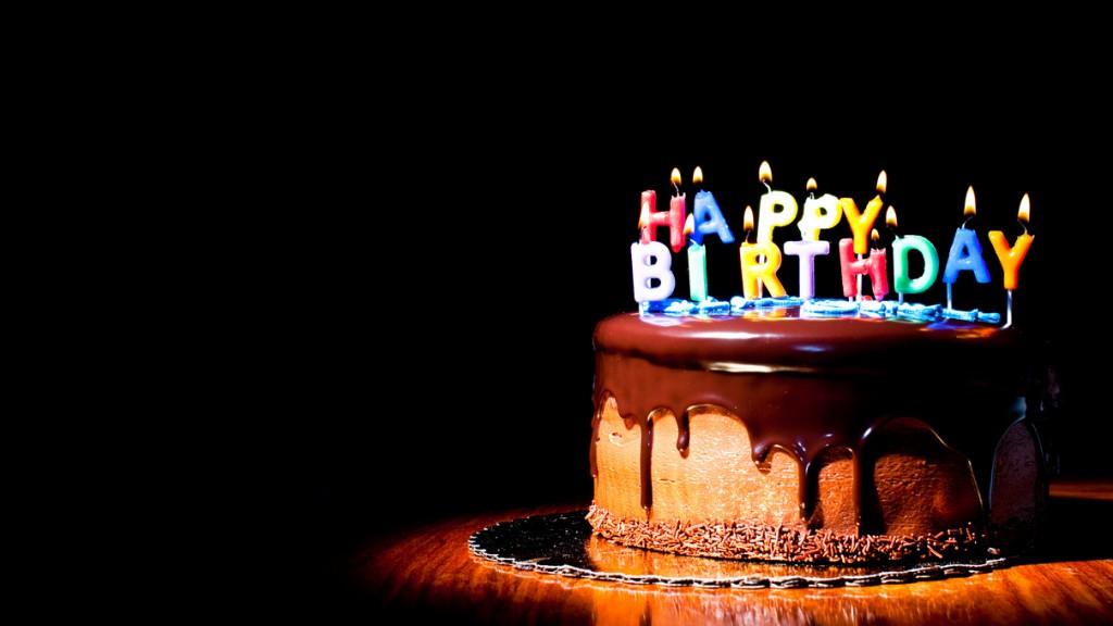 Happy-Birthday cake