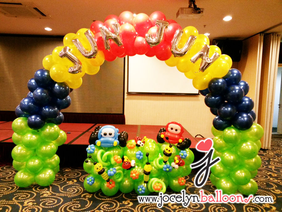 Cars theme Balloon Arch