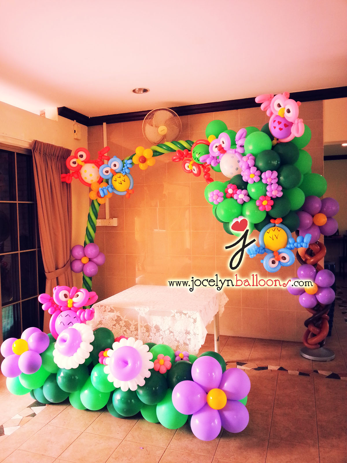 Cheapest balloon decorations for birthday party party for Balloon decoration arches