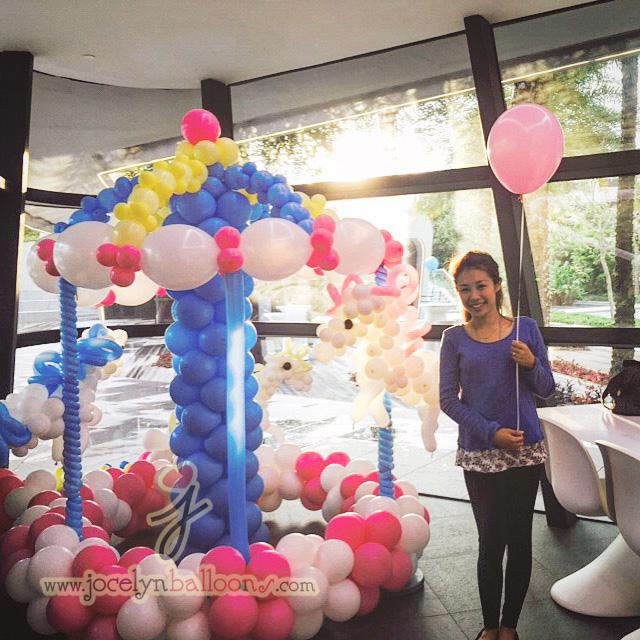 Carousel Balloon Display