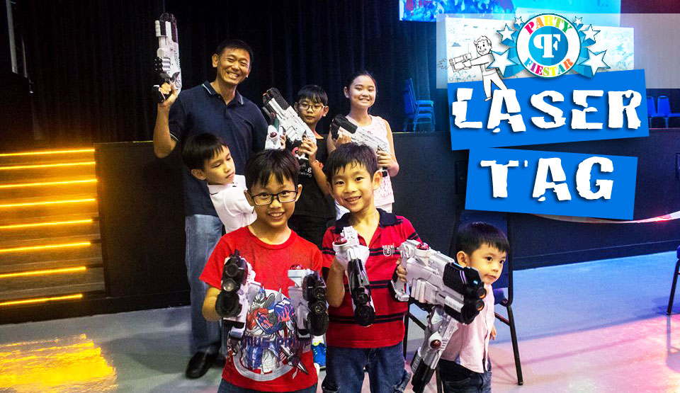 Laser Tag | Party Fiestar The Best Kids Party Planner In Singapore