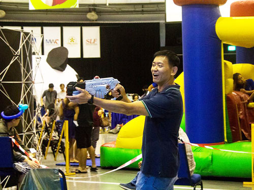 Laser Tag for Kids Party
