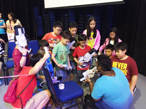Laser Tag for Kids Party Singapore