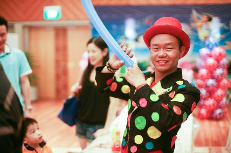 magic show singapore mr polka