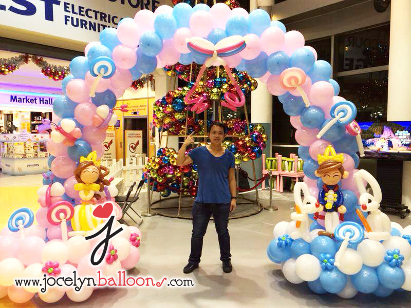 Prince & Princess Balloon Arch