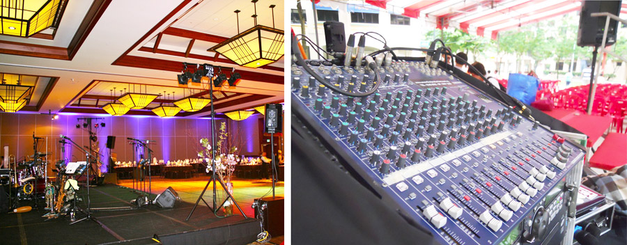 audio system rental singapore