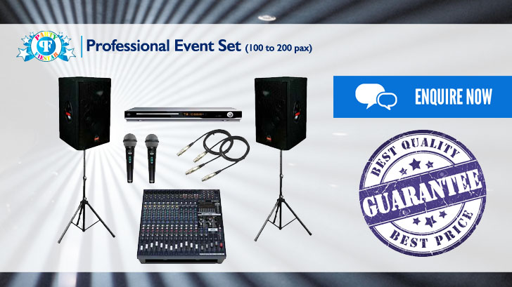 Cheapest Event Sound System Rental | Party Fiestar The Best