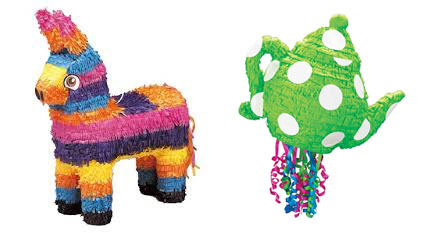 types of pinata