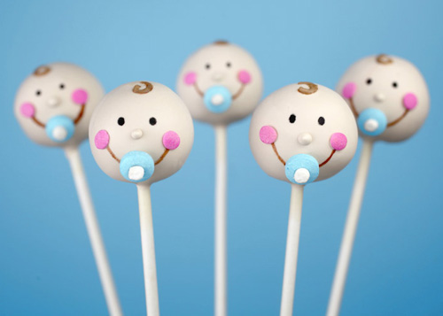 baby face cakepop