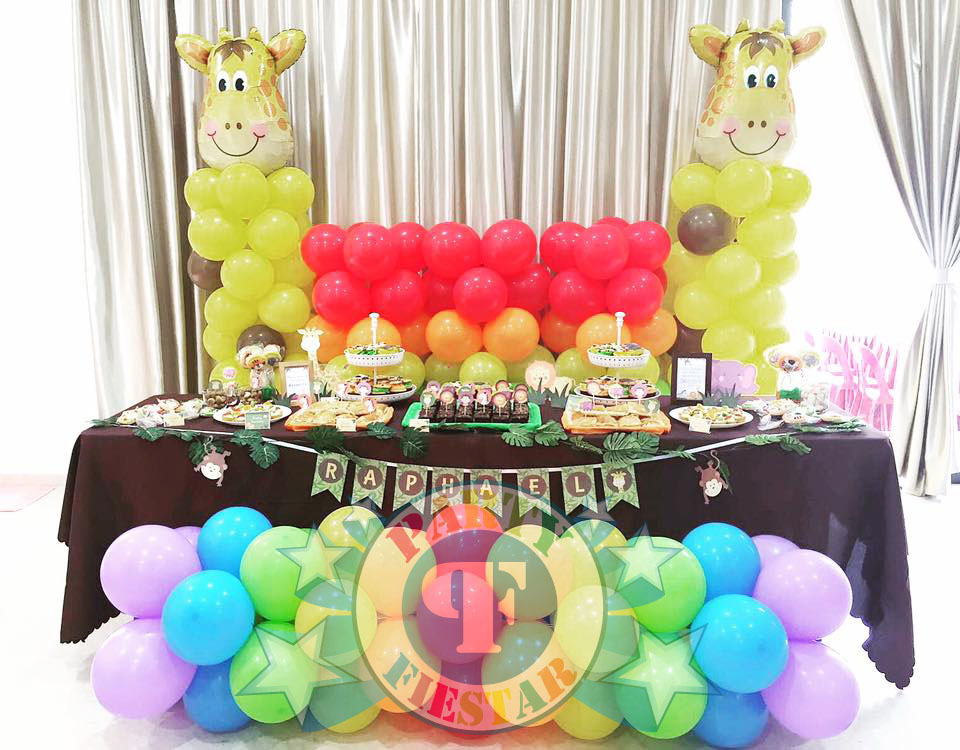 dessert table for birthday parties