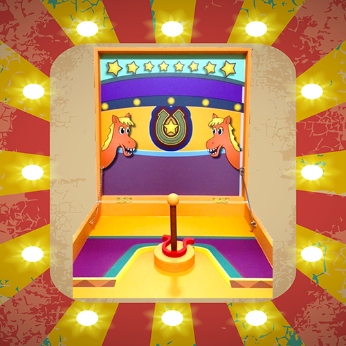 Horse Shoe Toss - Carnival Game Stall