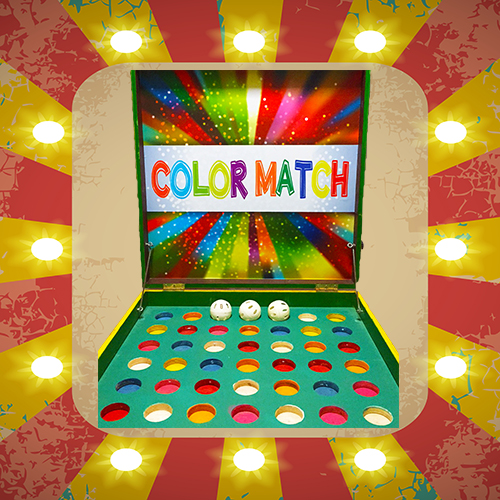 Colour Match - Carnival Game Stall