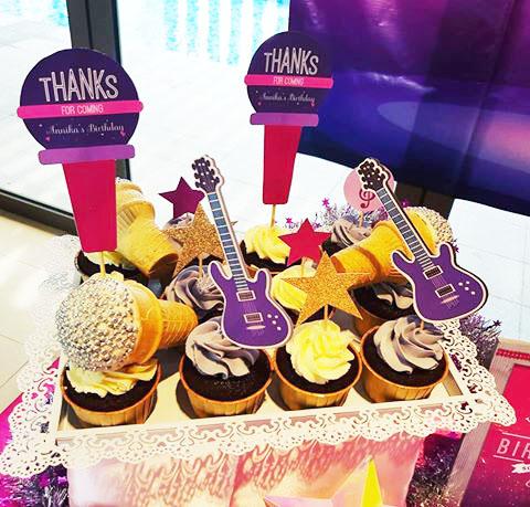 dessert table cupcakes singapore