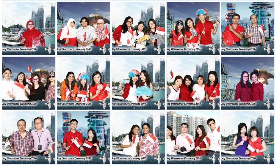 happy national day photo booth rental