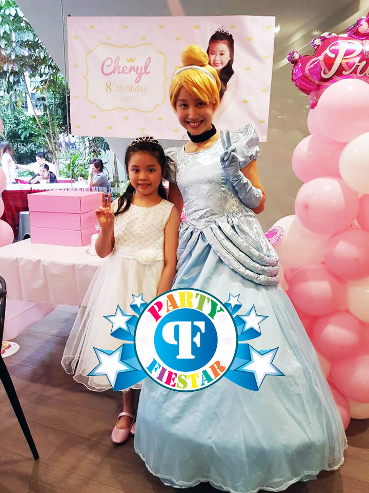 princess for kids birthday parties