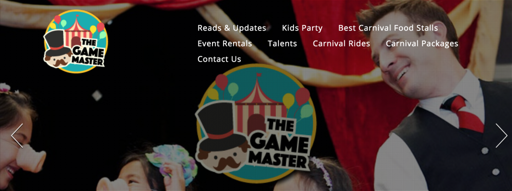 the game master singapore carnival event company
