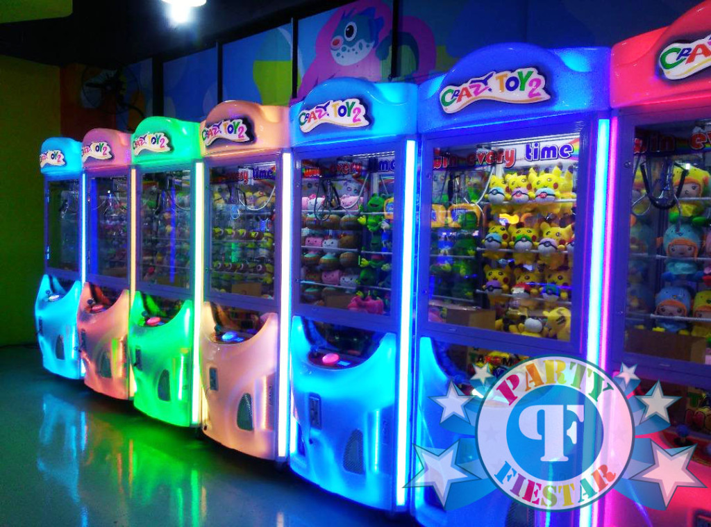 claw machine for events